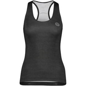 AGU Essential Melange Racer Top Women, black